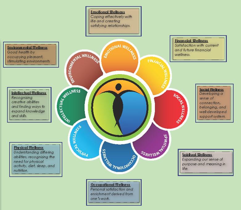 Wellness Week Wheel